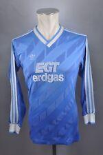 Vintage Furtwangen 80er EGT erdgas Trikot Shirt Gr M 5/6 adidas Blau jersey