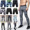 Men Long Pants  Compression Trousers Base Under Layer Bottom Workout Gym