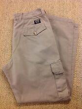 men's LEE W32-34 L32 Leesures Light Brown Cargo Trousers. Jeans. Superb