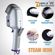 Travel Family Handheld Fabric Steam Iron Laundry Electric Steamer Brush
