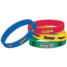 Justice League pack of four bracelets