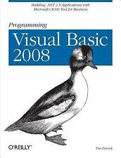 Programming Visual Basic 2008: Build .NET 3.5 Applications with Microsoft's RAD
