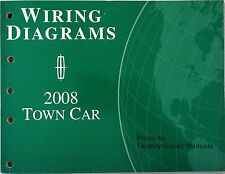 2008 Lincoln Town Car Electrical Wiring Diagrams Original Ford Manual