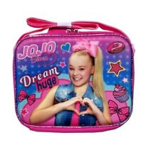 JoJo Siwa Girls Insulated Lunch Box School Tote Bag Food Cooler Kids Gift Toy 3D