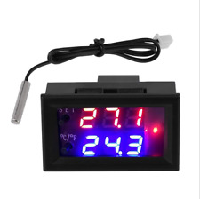12v Digital LED Microcomputer Thermostat Controller Switch Temperature Sensor