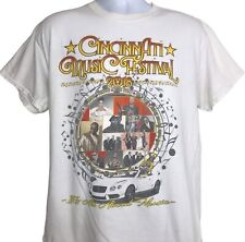 Cincinnati Music Festival T Shirt L Boyz II Men House Party XSCAPE Keith Sweat