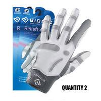 2 x Bionic Womens Arthritic ReliefGrip Golf Glove-  Left Hand/Leather $31.95 ea