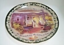 Glenna Kurz Plate Bradford Exchange Welcome Home Remember Your Loved Ones 1999