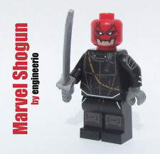 LEGO Custom - Shogun from Wolverine - Marvel Super heroes minifigures