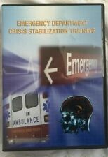 Emergency Department Crisis Stabilization Training Dvd And Cd Rom S.C. D M H