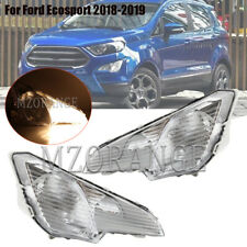 Fog Light Driving Lamp For Ford Ecosport 2018-2019 w/ Switch Kit Left+Right PAIR