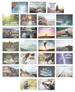 Set 25 Postkarten Leben & Momente mit Sprüchen (20826)