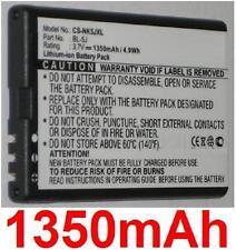 Batterie 1350mAh type BL-5J Pour Nokia 5800 XpressMusic