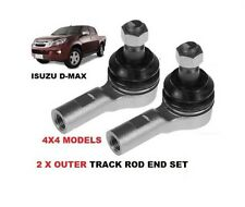 2 X OUTER TRACK TIE ROD ENDS FOR ISUZU RODEO D-MAX 2.5TD 3.0TD TFS TFR 2003-2008