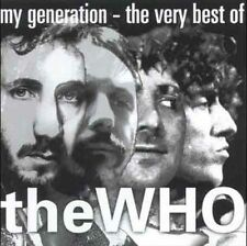 THE WHO ~ My Generation-Very Best of the Who ~ ** Brand New Factory Sealed ** CD