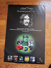 GEORGE HARRISON Dark horse years promo poster 20x30