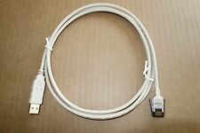 BEIGE USB to SDL 6 Pin 6ft IBM Lexmark Unicomp Model M Clicky Keyboard Cable NEW