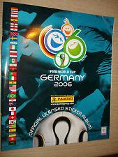 ALBUM PANINI MONDIALI FIFA WORLD CUP GERMANY GERMANIA 2006 RISTAMPA GAZZETTA