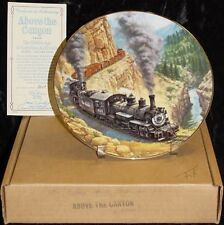 "1991 ""Above The Canyon"" Ted Xaras Train Plate M.I.B."