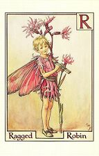 Flower Faires Postcard Cicley Mary Barker The Ragged Robin Fairy Lot1
