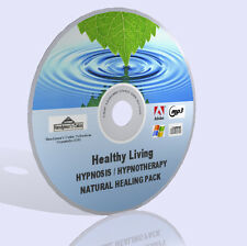 Hypnosis Hypnotherapy Natural Healing DVD Pack - Mp3 Audio Guides and More