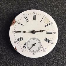 VINTAGE 43MM SWISS OPENFACE POCKETWATCH MOVEMENT