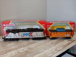 Williams Amtrak Locomotive (Dummy) CAB #764 and N5C caboose cab #100