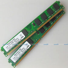 4GB 2x2GB PC2-4200 DDR2-533 DDR2 533Mhz 240pin Desktop Memory Low Density 4G RAM