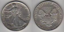 Año 1991. 1 Dólar. Plata 1 onza Troy. Peso 31,10 gr. Ley 999. LIBERTY.