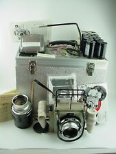 Linhof Aero-Press Bundeswehr Large Format Camera Complete Set w/ 2 Lenses - RARE