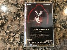 Kiss Gene Simmons New Sealed Cassette! From The 1980s