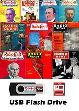 HUGE Radio Craft & Radio News Magazines 740 Issues on 16GB USB Flash Drive PDF