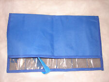 Big Game Lure Mesh Bag Saltwater FISHING LURE Tuna Dorado Wahoo 6 Pocket Blue