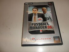 PC  Fussball Manager 06 [EA Classics]