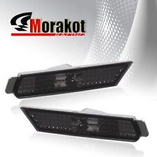 2010-2012 Chevrolet Chevy Camaro Side Marker Rear Parking Bumper Lights Smoke