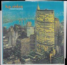 H.P. ZINKER PERSEVERANCE LP WHITE LABEL Hans Platzgumer Die Goldenen Zitronen HP