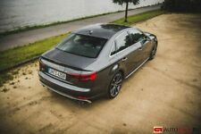 Trunk Spoiler Wing For Audi A4 S4 B9 Rear Extention Tail Splitter