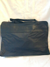 Navy Blue business Style Tote Bag in PVC Shoulder straps Brand New!     B102
