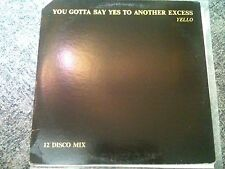 Yello - You gotta say yes to another excess 12'' PROMO