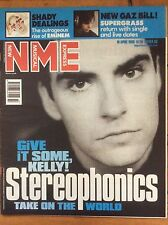 NME New Musical Express 10/4/99 Stereophonics, Eminem, Add N To (X), Greg Dulli