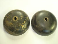 """Western Electric telephone brass 2 1/2 """" bells subset, ringer, wall phone"""