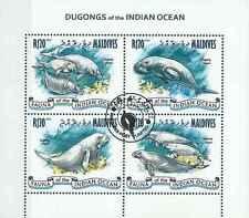 Timbres Faune marine Maldives 4063/6 o année 2013 lot 15718 cote : 15 €