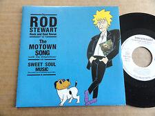 """DISQUE 45T DE ROD STEWART   """" THE MOTOWN SONG """""""