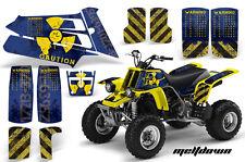 AMR Racing Yamaha Banshee 350 Decal Graphic Kit ATV Quad Wrap  87-05 MELTDOWN YU