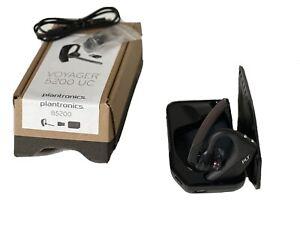 Plantronics Voyager 5200 UC Bluetooth Headset w/ Accessories B5200 206110-101