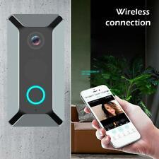 Wireless WiFi Video Doorbell Smart Phone Door Ring Intercom Camera Bell Security