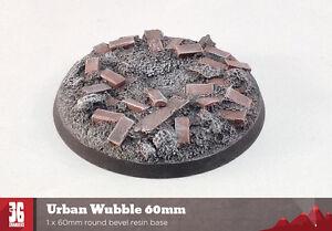 Urban Wubble MkII 60mm Round Bevel Resin Base