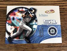 2001 Fleer Futures ICHIRO SUZUKI ROOKIE RC CARD #230 MARINERS /2499 JAPAN