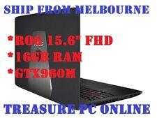 "Asus ROG GL552VW Gaming Laptop i7 6700 15.6"" FHD 16GB RAM 128GB SSD 2TB GTX960M"