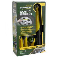 Car Sonic Brush Motorised Alloy Detailer Wheel Cleaner Cleaning Splashproof